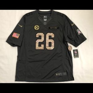 Pittsburgh Steelers SZ XL Salute 2 Svc NFL Jersey